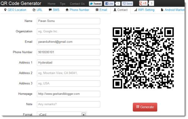 Top 5 Free online QR Code Generators