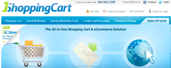1ShoppingCart Online Store Software