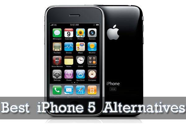 Best iPhone 5 Alternatives