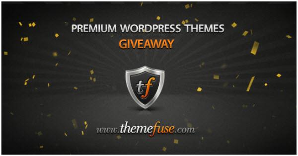 themefuse wordpress premium themes giveaway