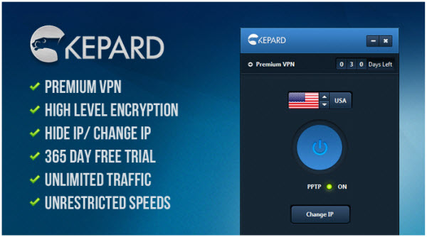 Kepard Premium VPN Account