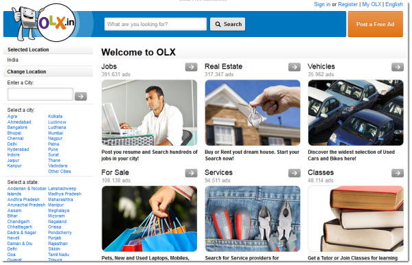 Online Free Classifieds